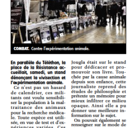 Article Journal du Centre - Nevers – 5 décembre 2015 – Fermons Le CEDS